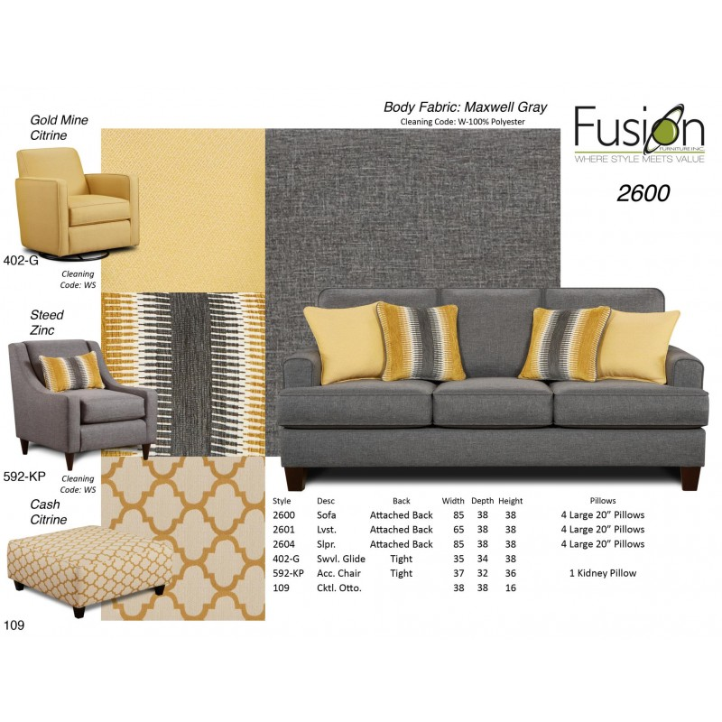 Maxwell Gray Sofa Collection Grubbs Furniture And Appliances - Maxwell sofa