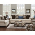 Anna White Linen Sofa Collection