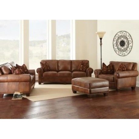 Silverado Leather Sofa Collection