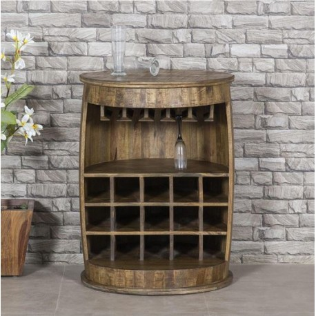 Round Bar and Wine Cabinet by Coast to Coast