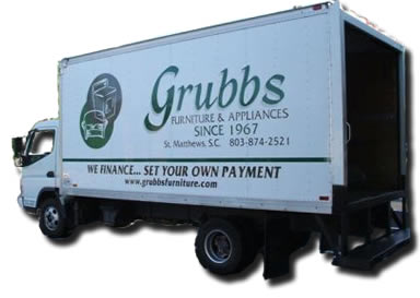 Grubbs Furniture Delivery Truck